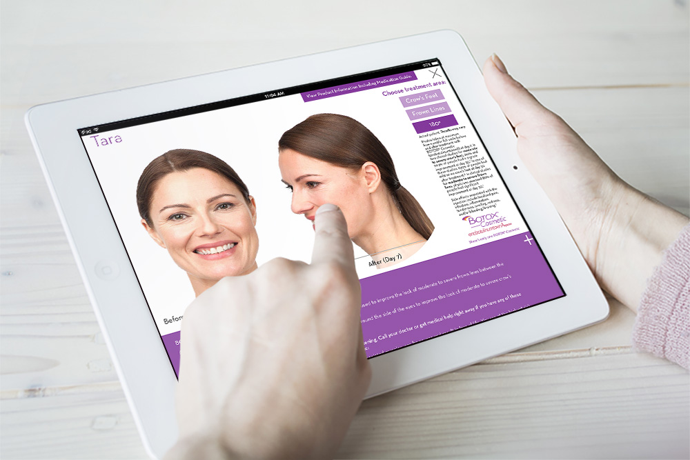 BOTOX ® Cosmetic Discovery App